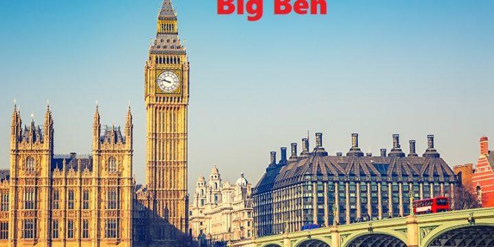 Big Ben , Landmark Berupa Menara Jam Dari Kota London